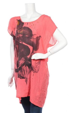 Τουνίκ Lindex, Μέγεθος S, Χρώμα Ρόζ , 65% βισκόζη, 35% πολυεστέρας, Τιμή 4,77€