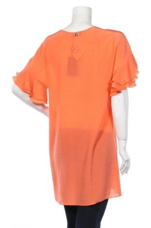 Τουνίκ TWINSET, Μέγεθος S, Χρώμα Πορτοκαλί, Μετάξι, Τιμή 80,42€