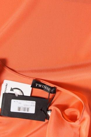 Τουνίκ TWINSET, Μέγεθος M, Χρώμα Πορτοκαλί, Μετάξι, Τιμή 80,42€