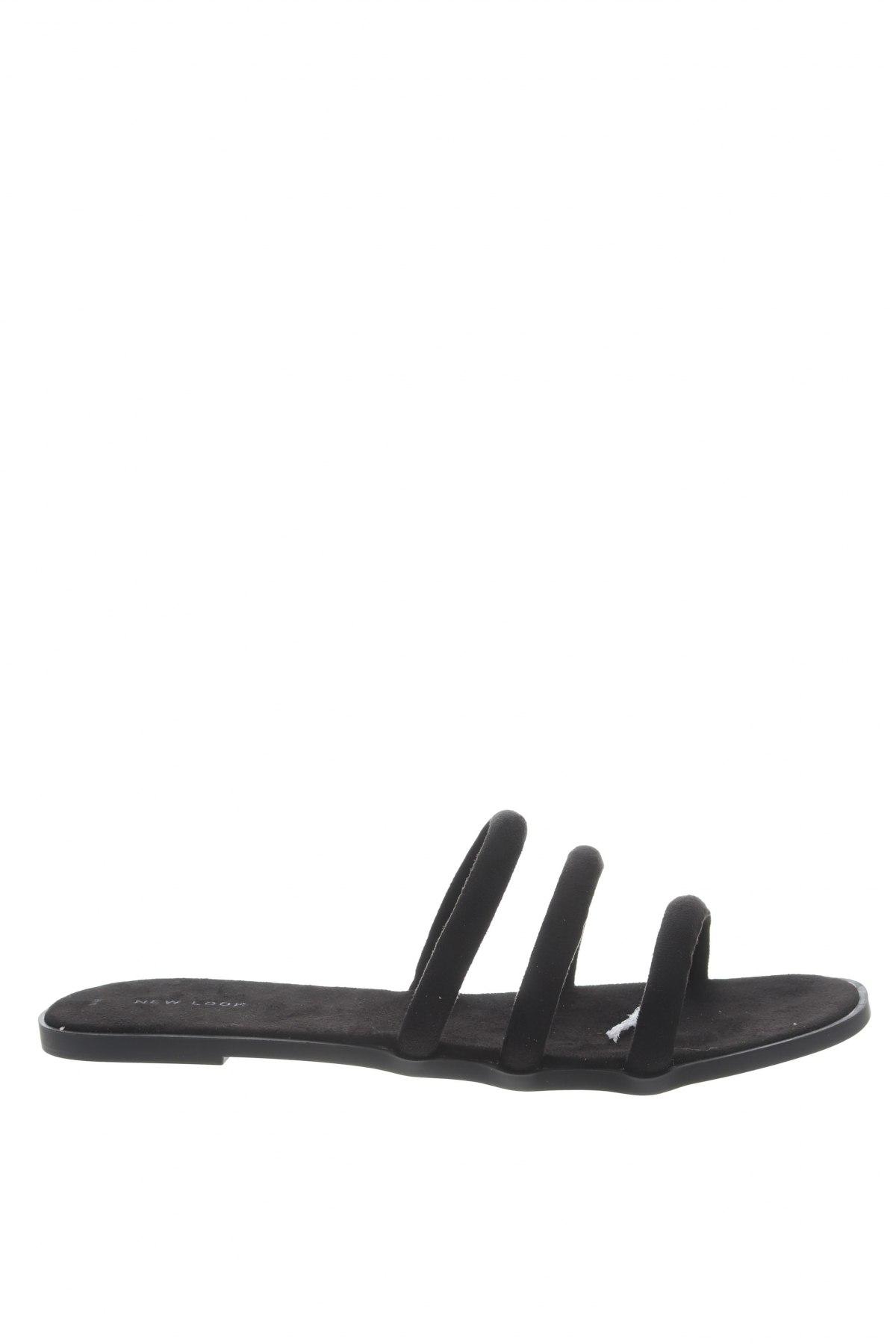 Чехли New Look, Размер 42, Цвят Черен, Текстил, Цена 20,67лв.