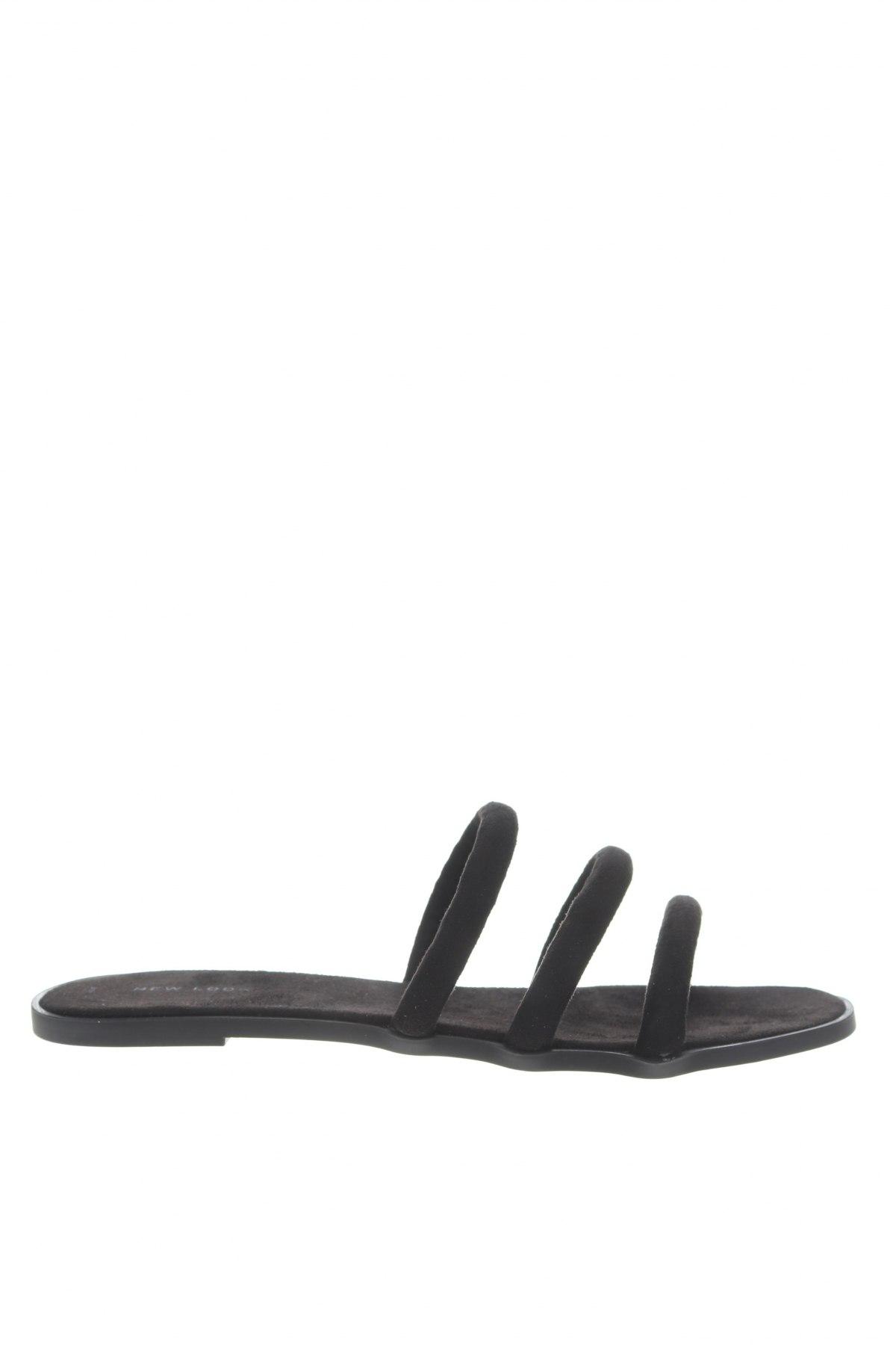Чехли New Look, Размер 41, Цвят Черен, Текстил, Цена 19,50лв.
