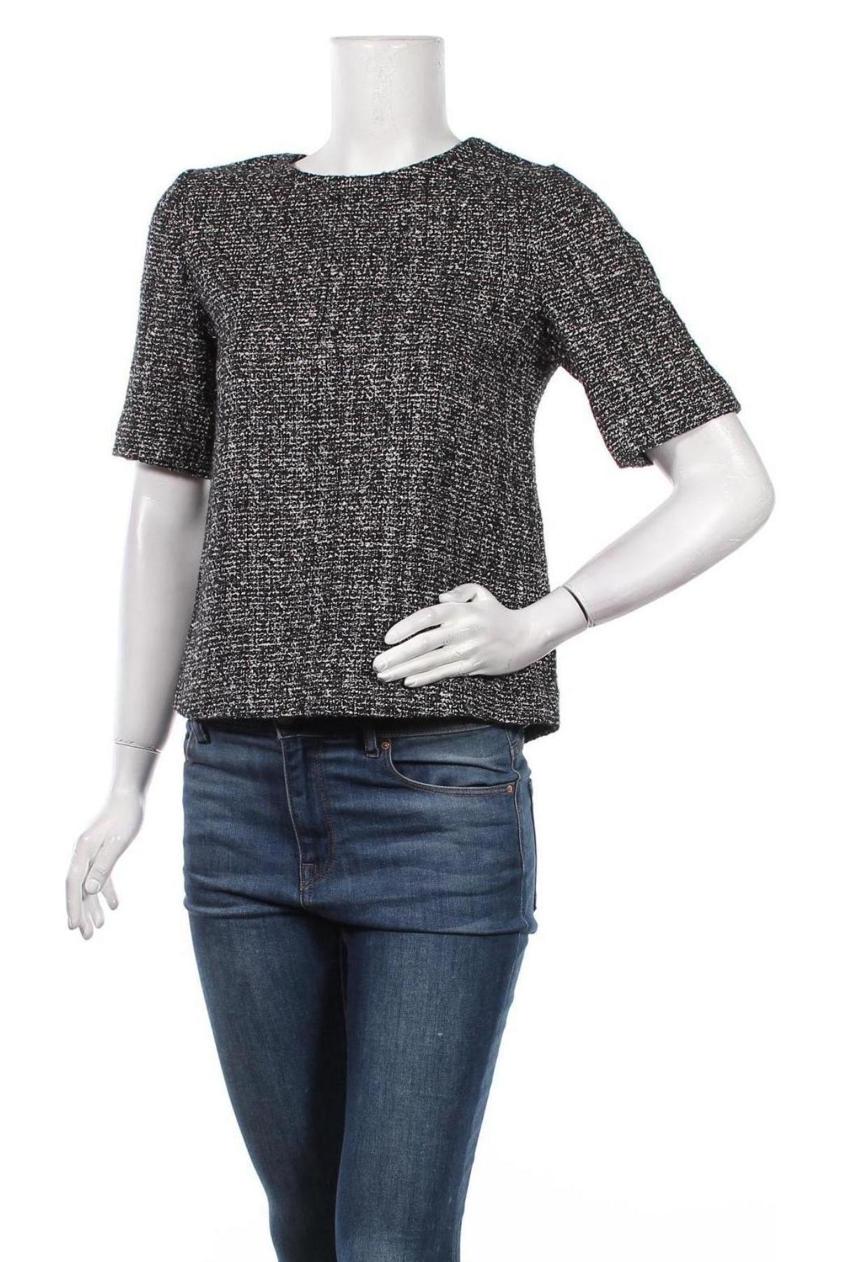 Γυναικείο πουλόβερ Massimo Dutti, Μέγεθος S, Χρώμα Λευκό, 41% βαμβάκι, 31% βισκόζη, 18% πολυεστέρας, 9%ακρυλικό, 1% πολυαμίδη, Τιμή 18,54€