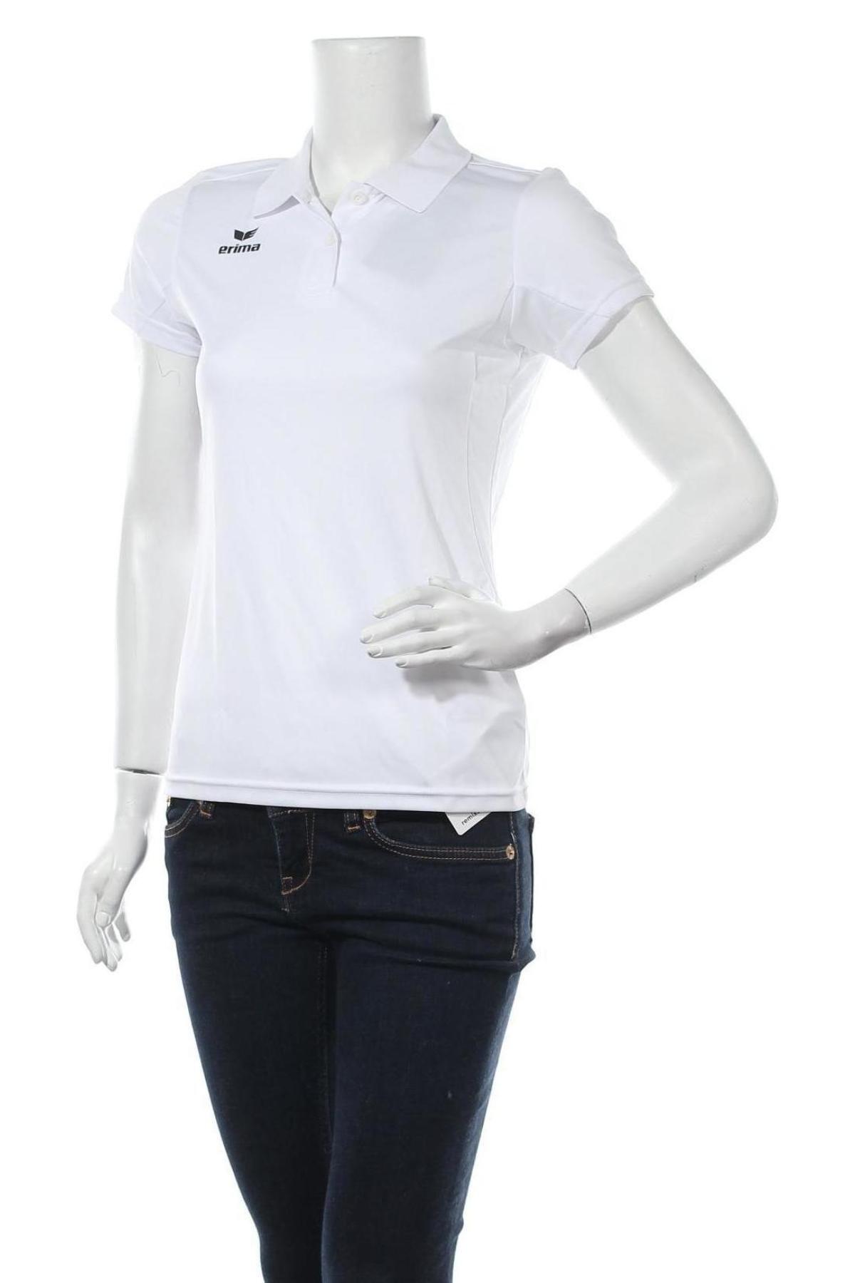 Дамска тениска Erima, Размер S, Цвят Бял, Полиестер, Цена 12,54лв.