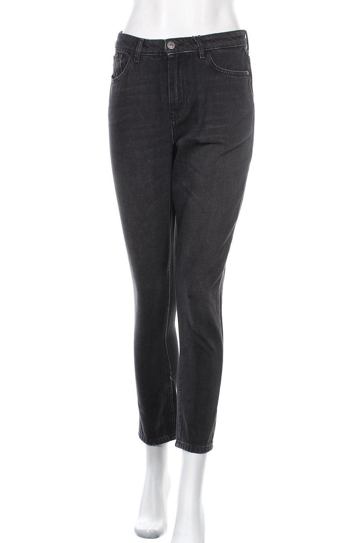 Дамски дънки ONLY, Размер L, Цвят Сив, 100% памук, Цена 40,12лв.