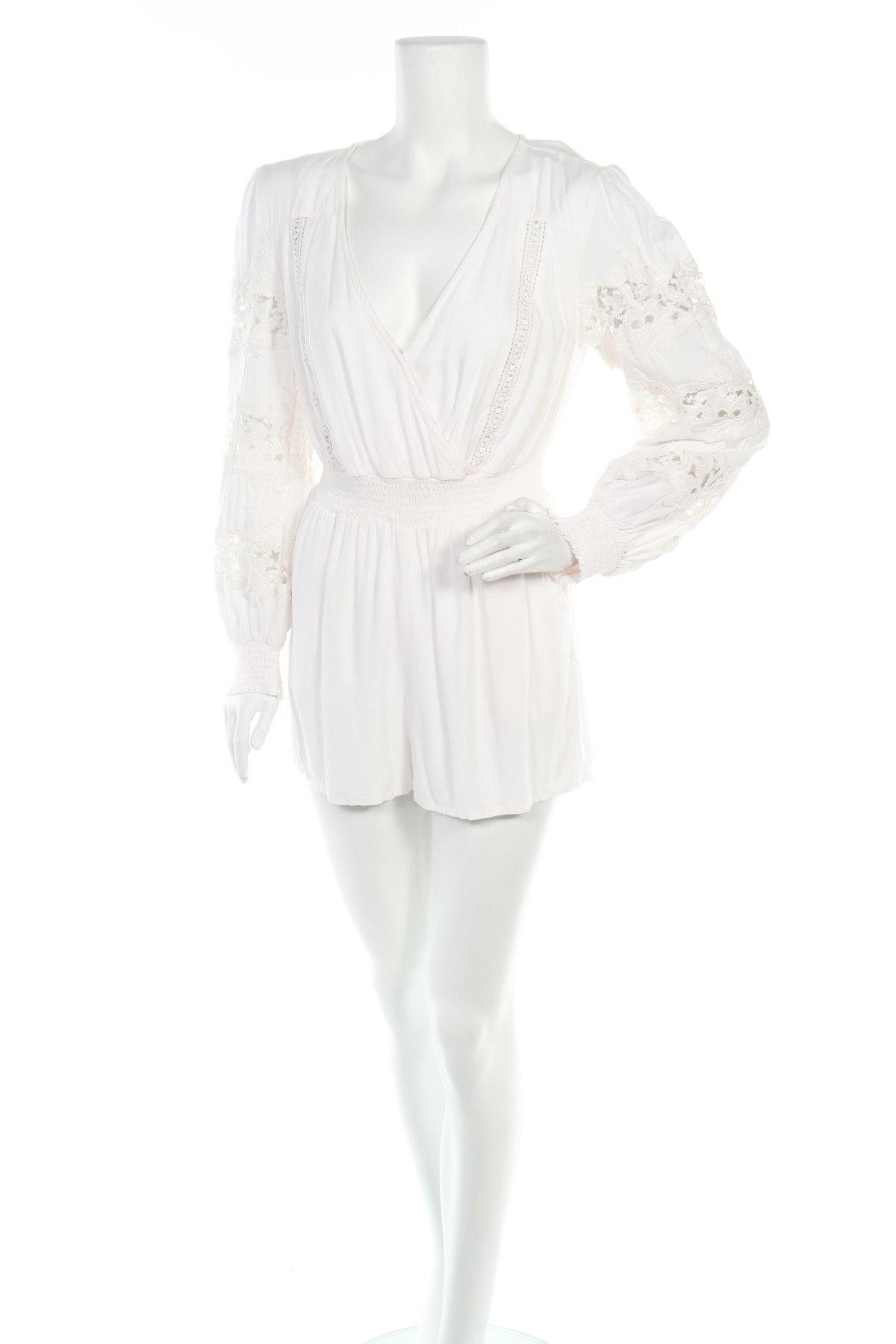 Γυναικεία σαλοπέτα Guess, Μέγεθος M, Χρώμα  Μπέζ, Βισκόζη, Τιμή 50,52€