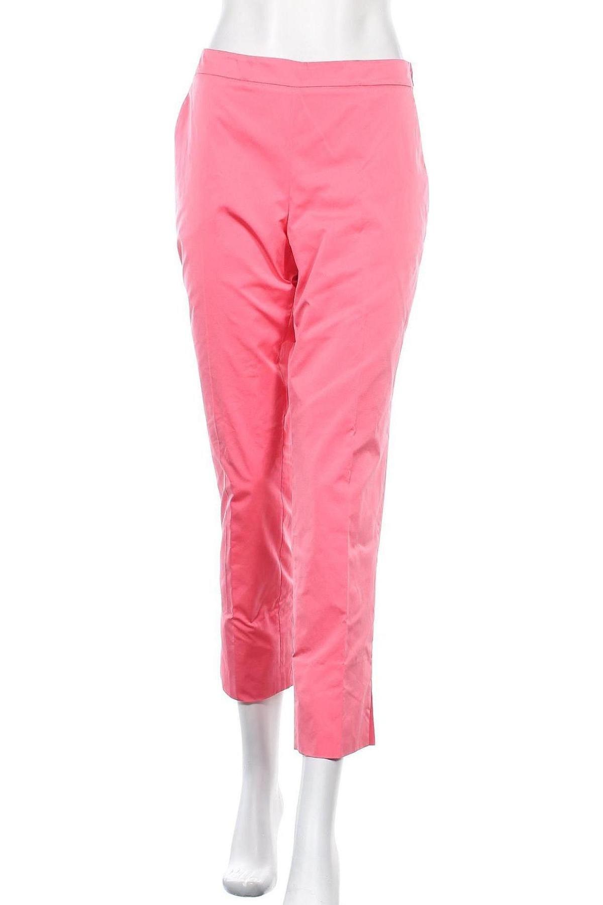 Γυναικείο παντελόνι TWINSET, Μέγεθος L, Χρώμα Ρόζ , 100% πολυεστέρας, Τιμή 57,60€