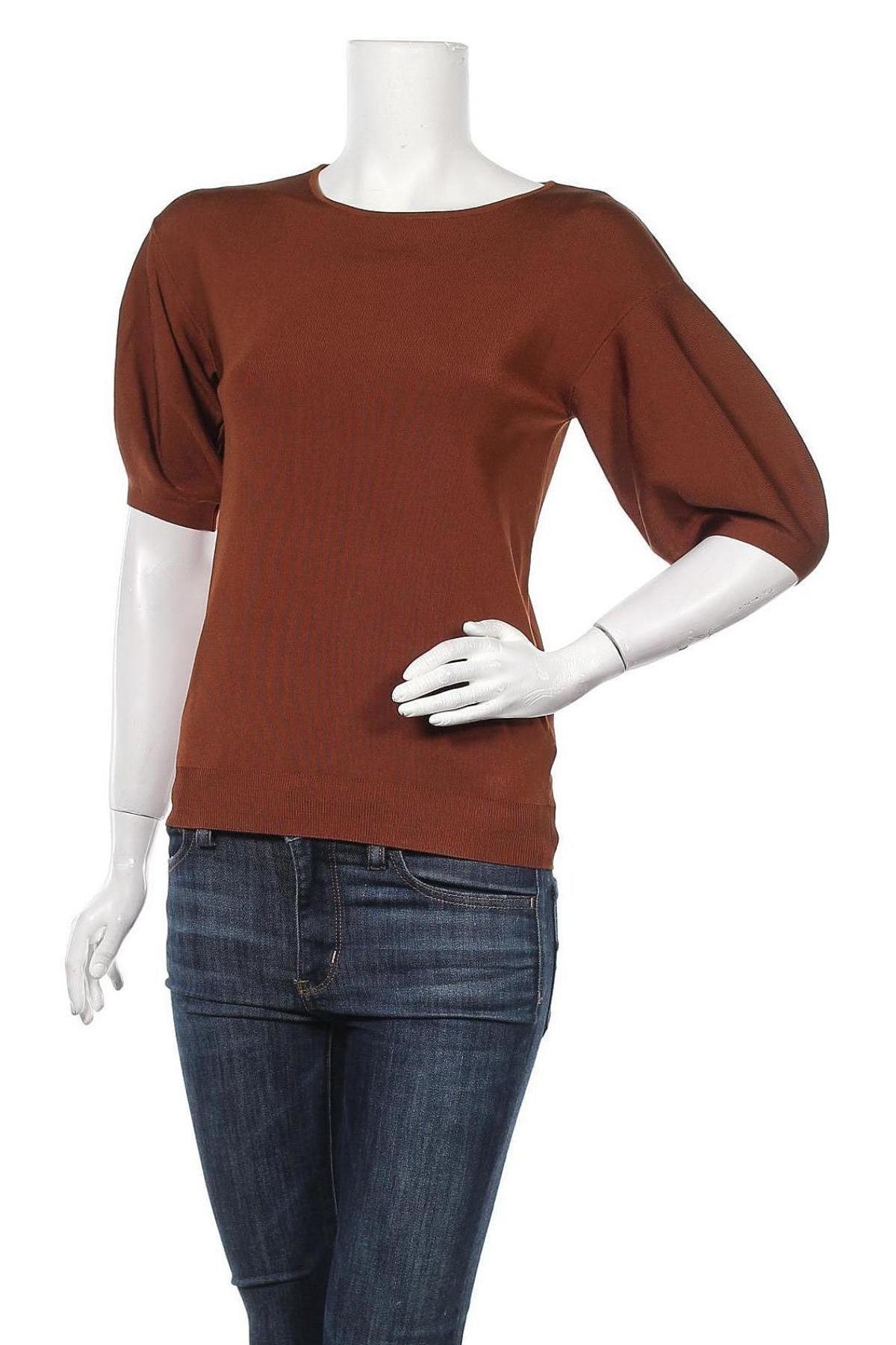 Γυναικείο πουλόβερ Massimo Dutti, Μέγεθος S, Χρώμα Καφέ, 4% ελαστάνη, 74% βισκόζη, 22% πολυαμίδη, Τιμή 19,67€