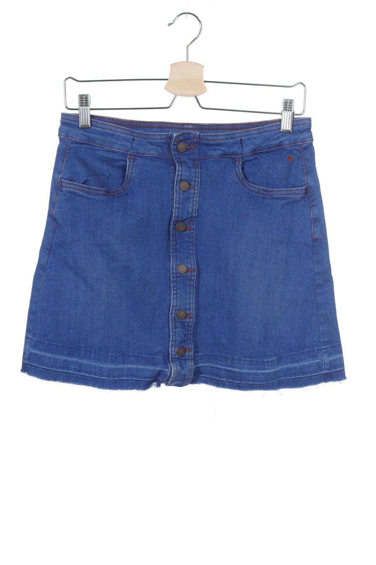 Παιδική φούστα Tom Tailor, Μέγεθος 15-18y/ 170-176 εκ., Χρώμα Μπλέ, 98% βαμβάκι, 2% ελαστάνη, Τιμή 10,64€