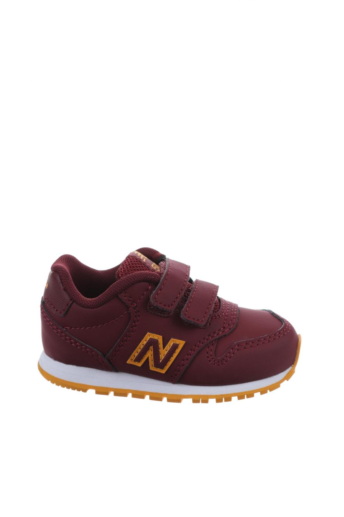 Παιδικά παπούτσια New Balance, Μέγεθος 22, Χρώμα Κόκκινο, Δερματίνη, Τιμή 38,27€