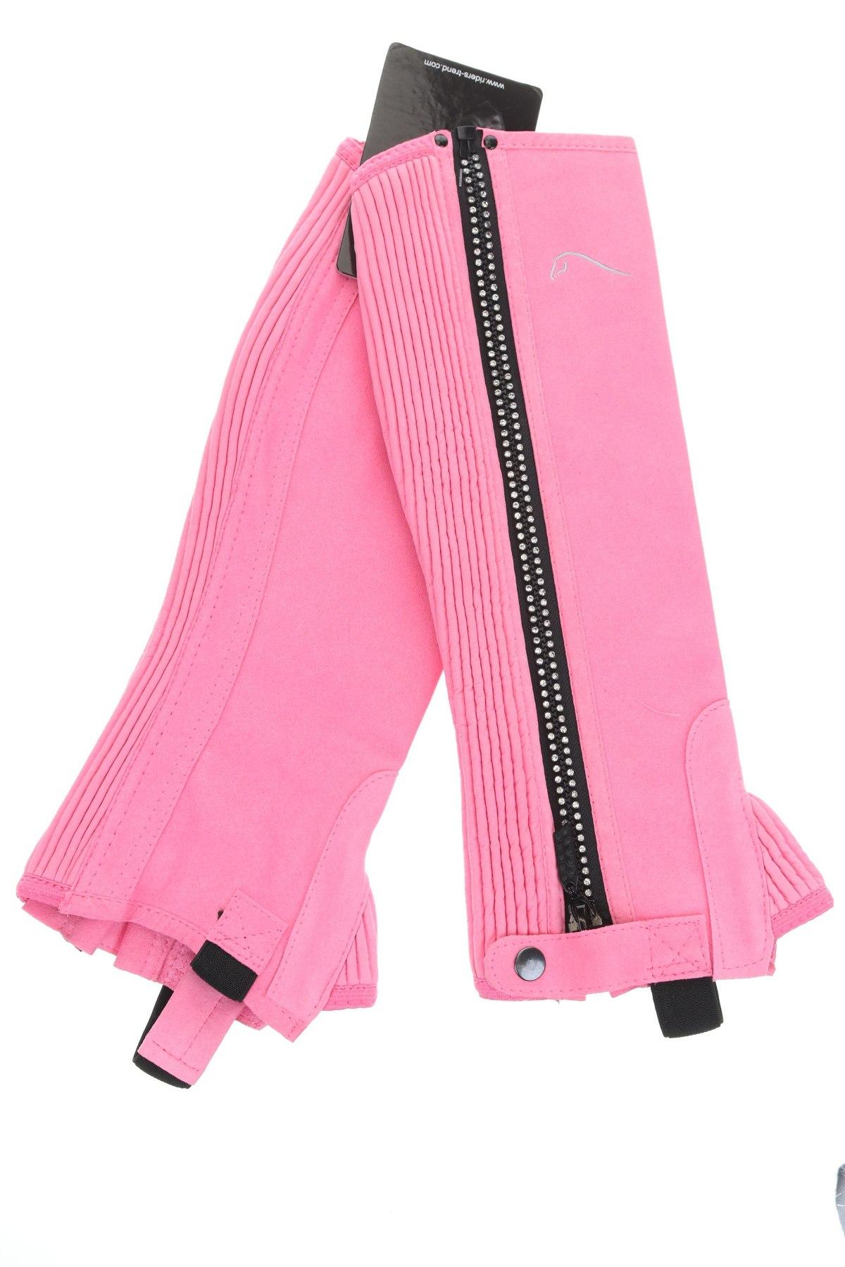 Γκέτες για υππασία Riders Trend, Μέγεθος XS, Χρώμα Ρόζ , Φυσικό σουέτ, Τιμή 10,55€