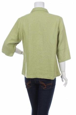 Γυναικείο πουκάμισο, Μέγεθος L, Χρώμα Πράσινο, Τιμή 9,28€