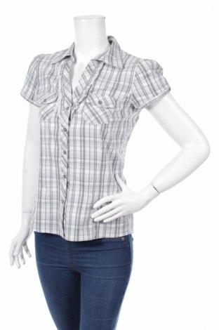 Γυναικείο πουκάμισο Flame, Μέγεθος S, Χρώμα Γκρί, Τιμή 9,28€