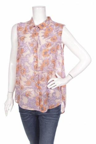 Дамска риза H&M, Размер M, Цвят Многоцветен, 100% полиестер, Цена 3,75лв.