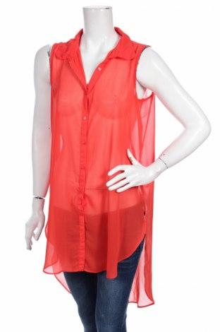 Γυναικείο πουκάμισο Trend One, Μέγεθος M, Χρώμα Κόκκινο, 100% πολυεστέρας, Τιμή 2,78€