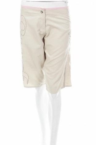 Γυναικείο κοντό παντελόνι, Μέγεθος M, Χρώμα  Μπέζ, Τιμή 3,27€
