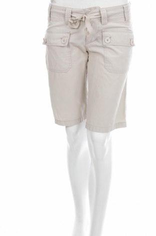 Дамски къс панталон Bongo, Размер S, Цвят Сив, Памук, Цена 5,74лв.