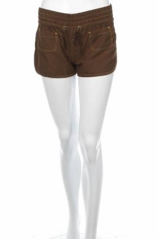 Γυναικείο κοντό παντελόνι Pulp, Μέγεθος M, Χρώμα Καφέ, Πολυεστέρας, Τιμή 2,01€