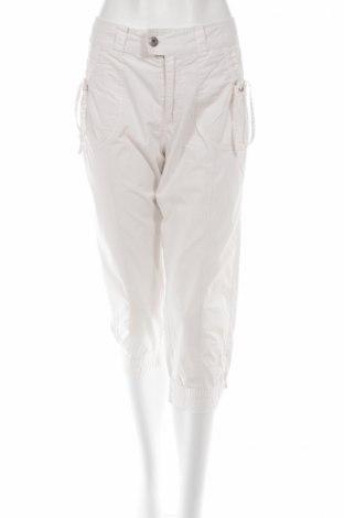 Дамски панталон Cher, Размер M, Цвят Бял, 100% памук, Цена 4,76лв.