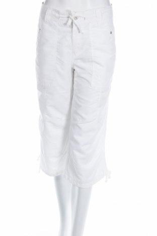 Дамски панталон Chicoree, Размер L, Цвят Бял, Полиестер, Цена 4,56лв.