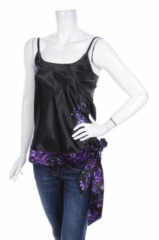 Γυναικείο αμάνικο μπλουζάκι No Excuse, Μέγεθος M, Χρώμα Μαύρο, 100% πολυεστέρας, Τιμή 2,32€