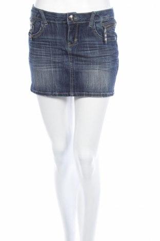 Φούστα Blue Rags, Μέγεθος M, Χρώμα Μπλέ, 73% βαμβάκι, 25% πολυεστέρας, 2% ελαστάνη, Τιμή 2,86€