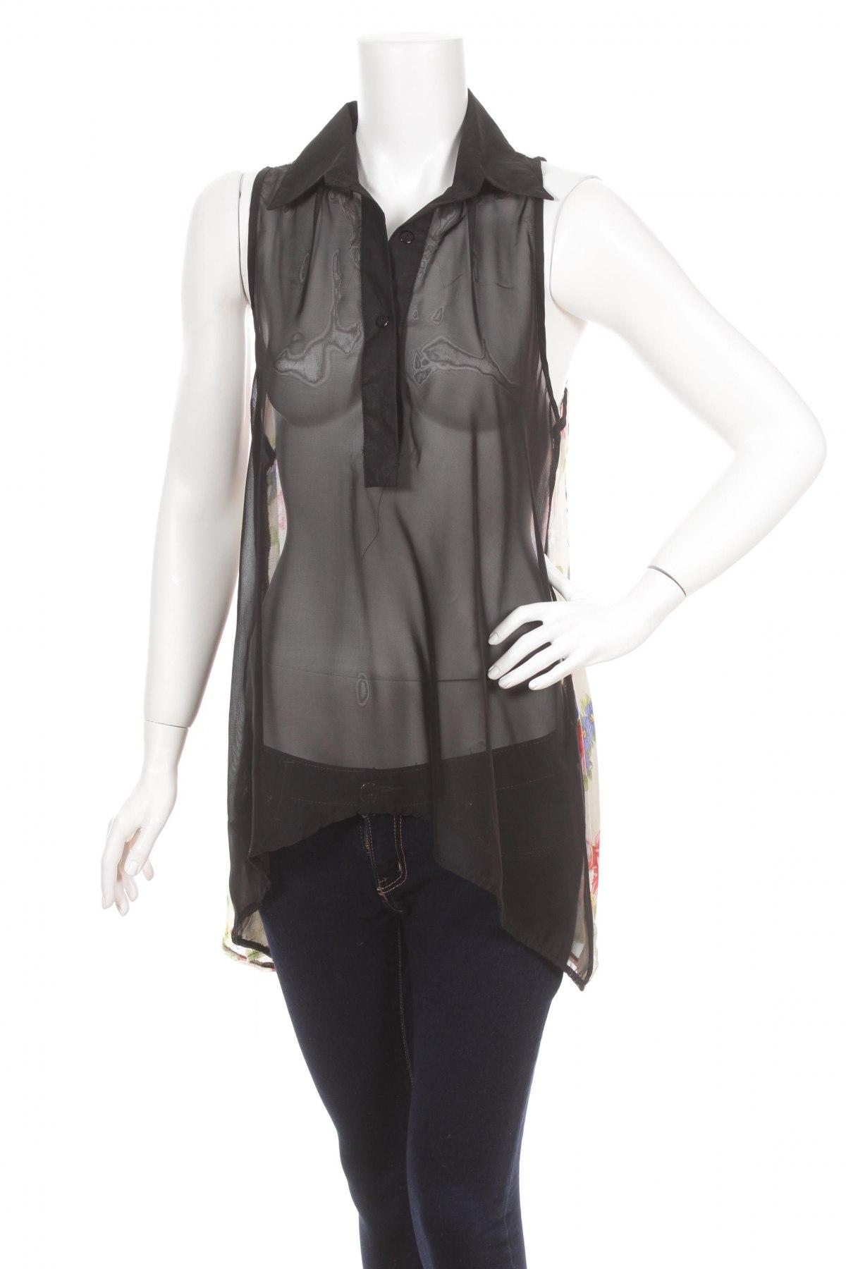 Γυναικείο πουκάμισο G&Y, Μέγεθος S, Χρώμα Πολύχρωμο, Πολυεστέρας, Τιμή 10,52€