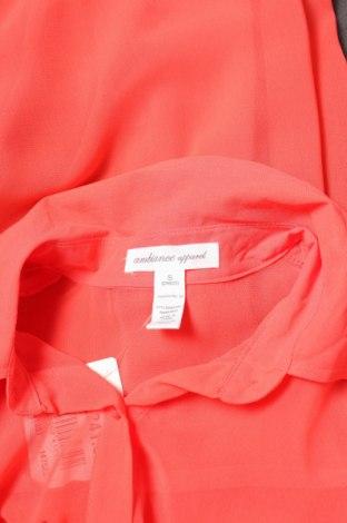 Γυναικείο πουκάμισο Ambiance Apparel, Μέγεθος S, Χρώμα Πορτοκαλί, Τιμή 11,13€