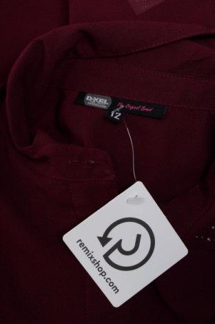 Γυναικείο πουκάμισο D-Xel, Μέγεθος M, Χρώμα Βιολετί, 100% πολυεστέρας, Τιμή 10,52€