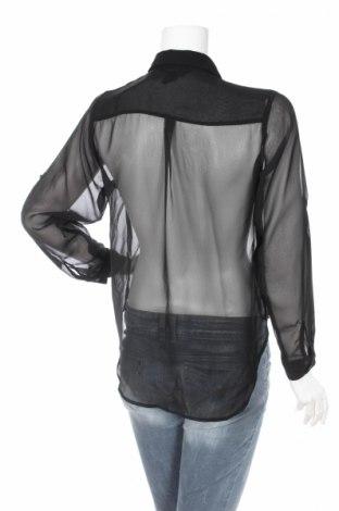 Γυναικείο πουκάμισο H&M, Μέγεθος XS, Χρώμα Μαύρο, Τιμή 15,46€