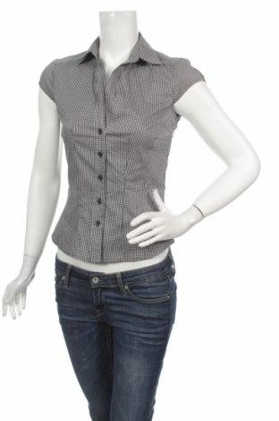 Γυναικείο πουκάμισο H&M, Μέγεθος S, Χρώμα Πολύχρωμο, 32% βαμβάκι, 11% πολυαμίδη, 53% πολυεστέρας, 4% ελαστάνη, Τιμή 10,52€