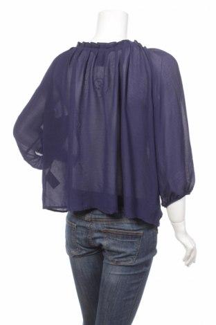 Γυναικείο πουκάμισο H&M, Μέγεθος M, Χρώμα Μπλέ, Πολυεστέρας, Τιμή 13,61€