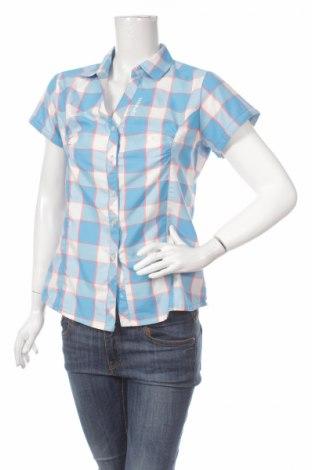 Дамска риза Icepeak, Размер M, Цвят Син, 90% полиестер, 10% вискоза, Цена 3,12лв.