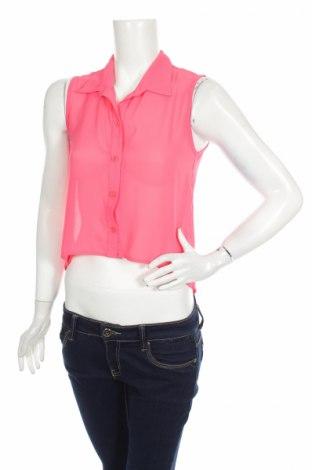 Дамска риза Love J, Размер S, Цвят Розов, Цена 4,50лв.