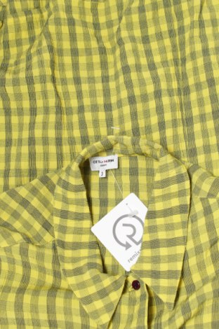 Γυναικείο πουκάμισο Otto Kern, Μέγεθος L, Χρώμα Κίτρινο, 60% βισκόζη, 40% πολυεστέρας, Τιμή 16,08€