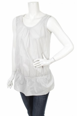 Γυναικείο αμάνικο μπλουζάκι Calinkalin, Μέγεθος S, Χρώμα Γκρί, Βαμβάκι, Τιμή 2,32€