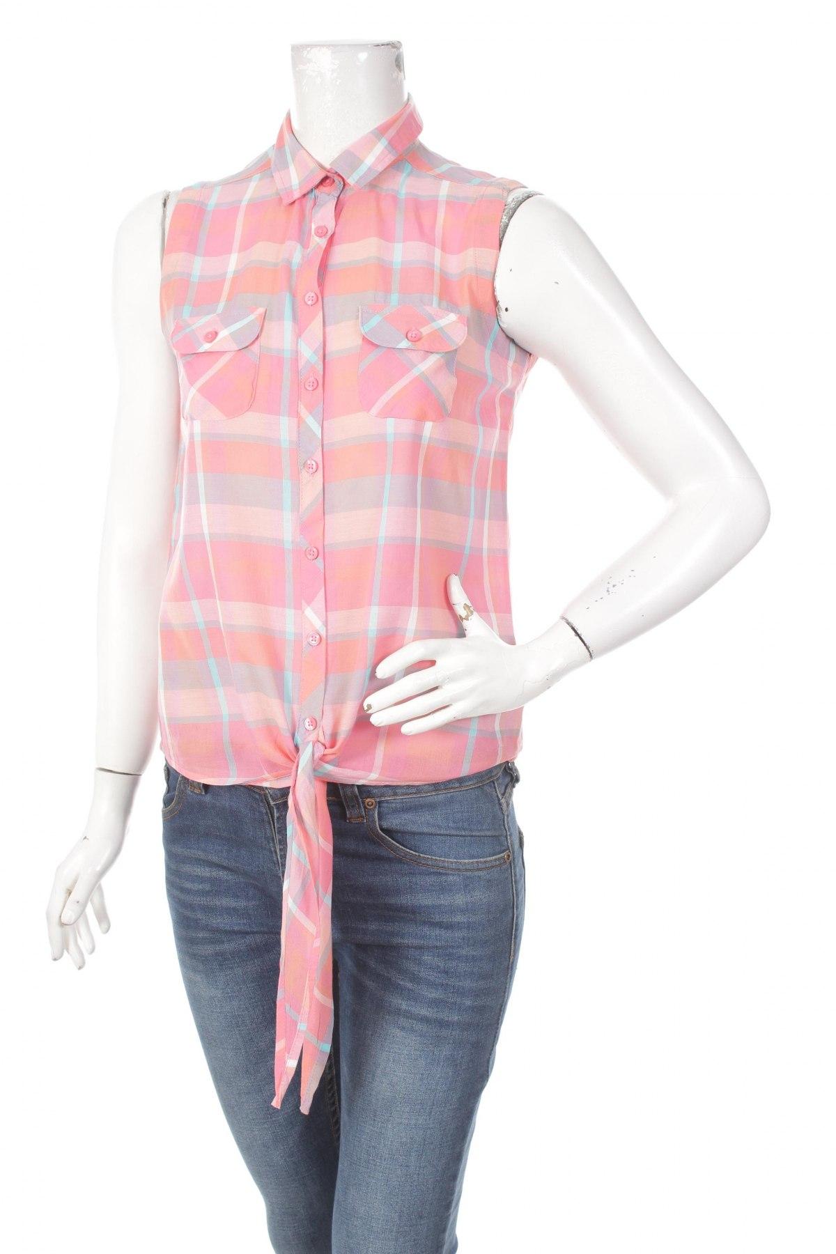 Γυναικείο πουκάμισο Defacto, Μέγεθος S, Χρώμα Πολύχρωμο, Τιμή 19,59€