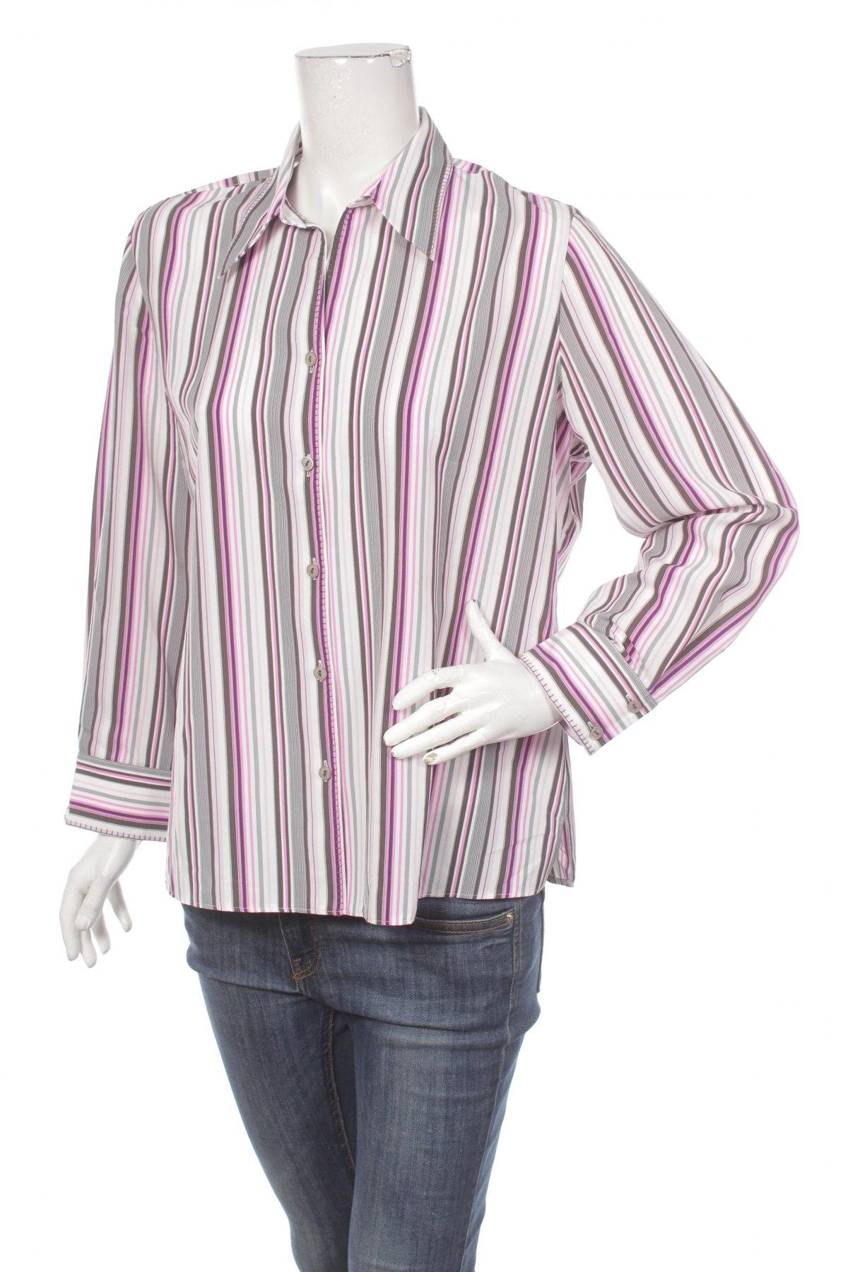 Γυναικείο πουκάμισο Erfo, Μέγεθος L, Χρώμα Πολύχρωμο, Τιμή 14,23€