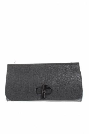Γυναικεία τσάντα Mangotti, Χρώμα Μαύρο, Γνήσιο δέρμα, Τιμή 106,95€