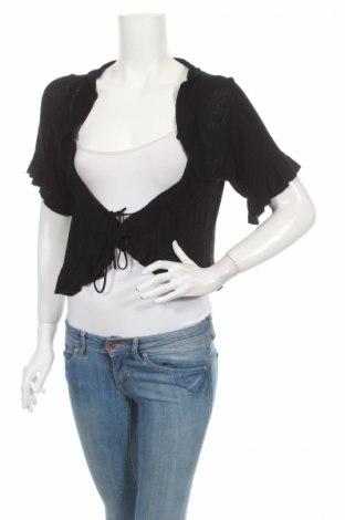 Дамска жилетка Ms Mode, Размер M, Цвят Черен, 100% вискоза, Цена 7,65лв.