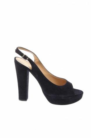 Sandále Unutzer, Veľkosť 41, Farba Modrá, Prírodný velur , Cena  48,45€