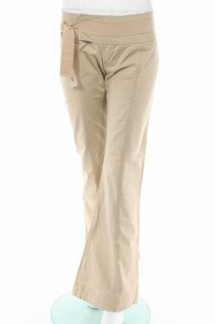Дамски панталон Bench, Размер L, Цвят Бежов, 95% памук, 5% еластан, Цена 23,32лв.