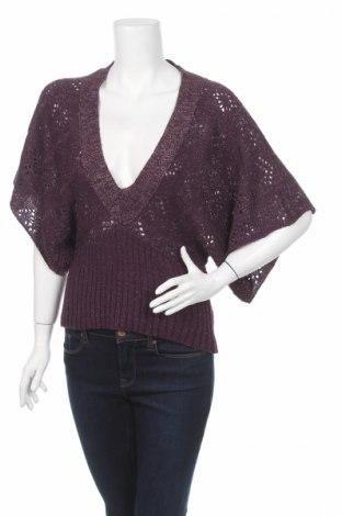 Дамски пуловер, Размер M, Цвят Лилав, Цена 6,40лв.