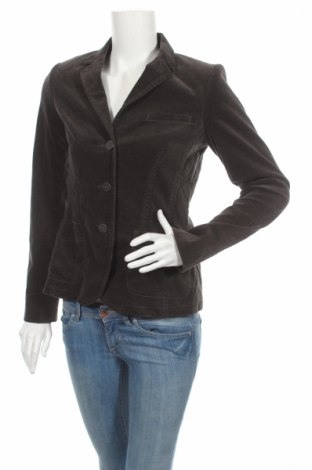 Дамско сако Anne L., Размер M, Цвят Сив, 98% памук, 2% еластан, Цена 8,45лв.
