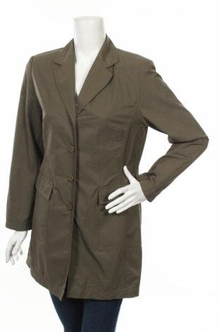 Дамски шлифер Bianca, Размер M, Цвят Зелен, 62% памук, 38% полиестер, Цена 19,75лв.