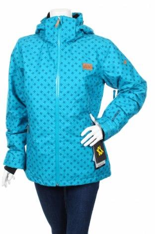 Дамско яке за зимни спортове VOLKL, Размер L, Цвят Син, 100% полиамид, Цена 224,64лв.