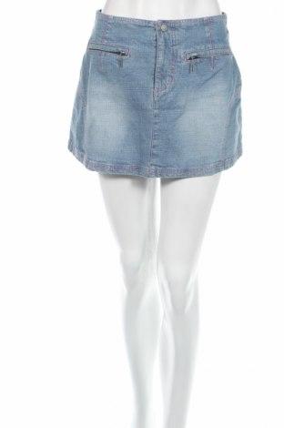 Φούστα Nikita, Μέγεθος S, Χρώμα Μπλέ, 98% βαμβάκι, 2% ελαστάνη, Τιμή 6,46€