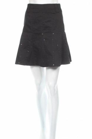 Пола S.Oliver, Размер XS, Цвят Черен, 98% памук, 2% еластан, Цена 6,20лв.