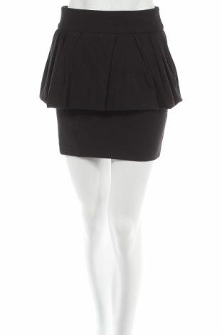 Пола Zara, Размер XS, Цвят Черен, 51% памук, 46% полиестер, 3% еластан, Цена 10,17лв.