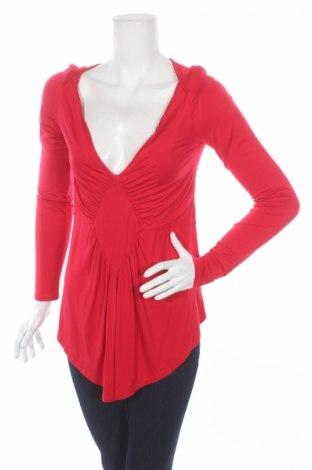 Дамска блуза Anna Scott, Размер L, Цвят Червен, 92% вискоза, 8% еластан, Цена 7,00лв.