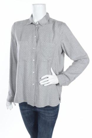 Γυναικείο πουκάμισο Tom Tailor, Μέγεθος M, Χρώμα Γκρί, Τιμή 11,91€